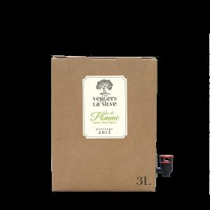 """""""Terroir"""".Bag in box jus de pomme non filtré 3L."""